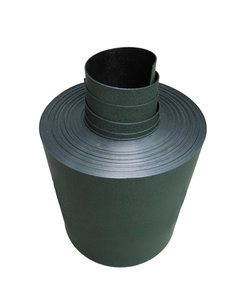 Gietrand groen-zwart - 2 mm
